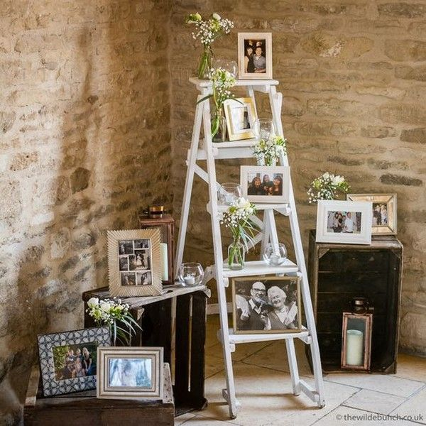 18 Vintage Wedding Decorations With Ladders