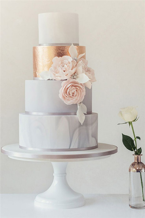 Marble Wedding Cakes to Blow Your Mind Away