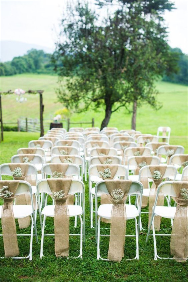Rustic Burlap Wedding Ideas to Shine