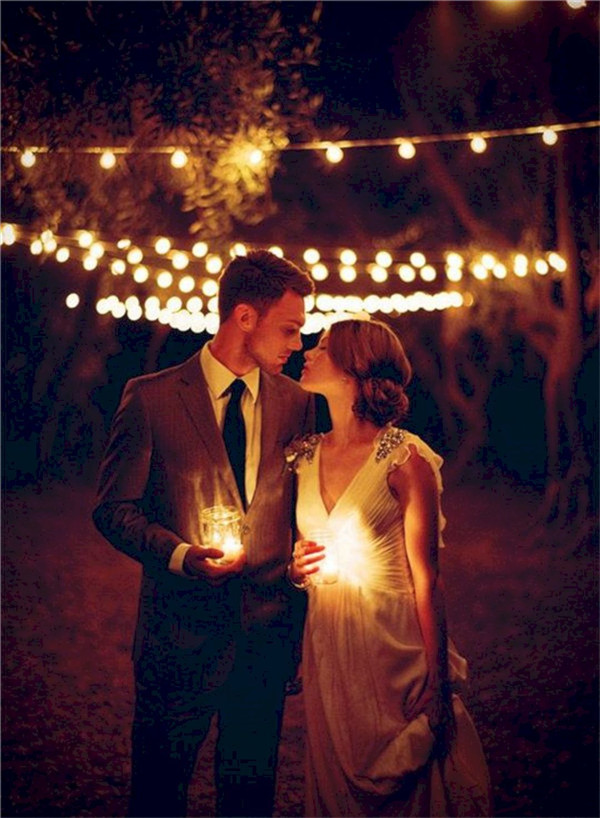 The Most Incredible Night Wedding Photos Ever