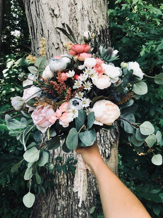 Boho Rustic Wedding Bouquets That Really Inspire