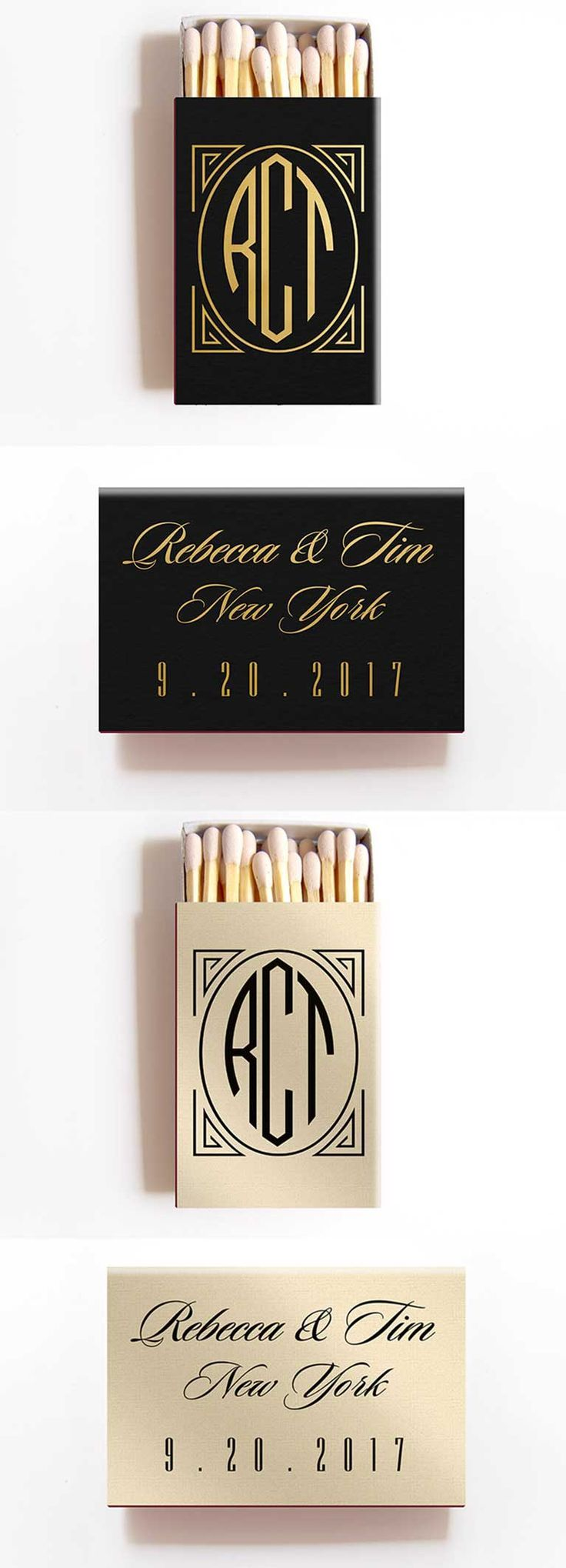 Chic Wedding Monograms That Are Way Cooler