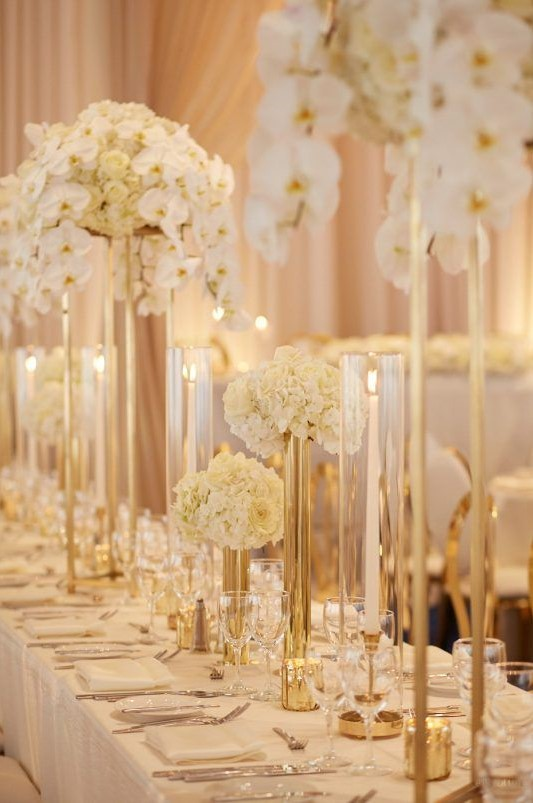 30 Luxury And Elegant Gold Wedding Decorations Mrs To Be