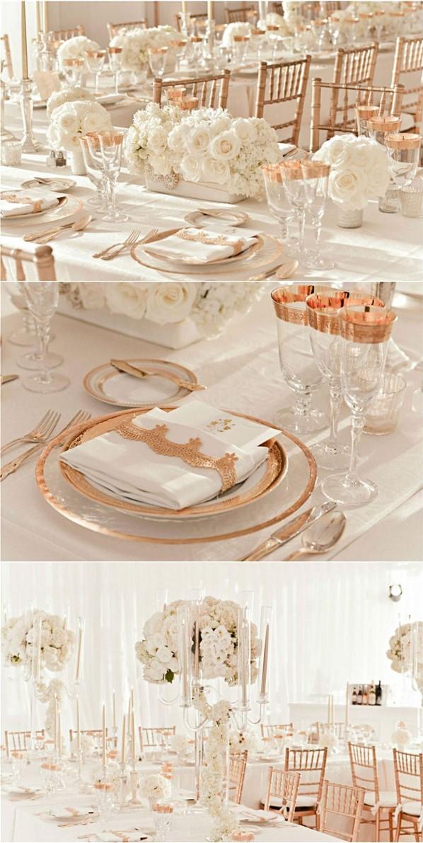 Wedding Decorations Banner Wedding Elegant Bliss Wedding Accessories gold White Decorations