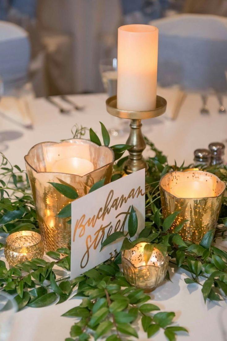 Luxury and Elegant Gold Wedding Decorations