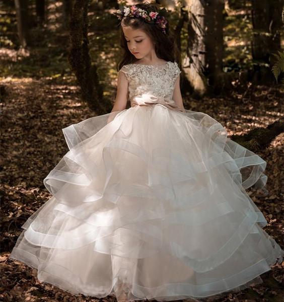 Cute Rustic Flower Girl Dresses