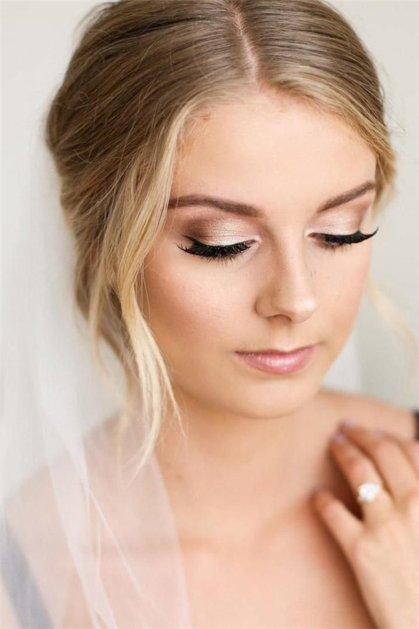 Gorgeous Wedding Makeup Ideas to Impress