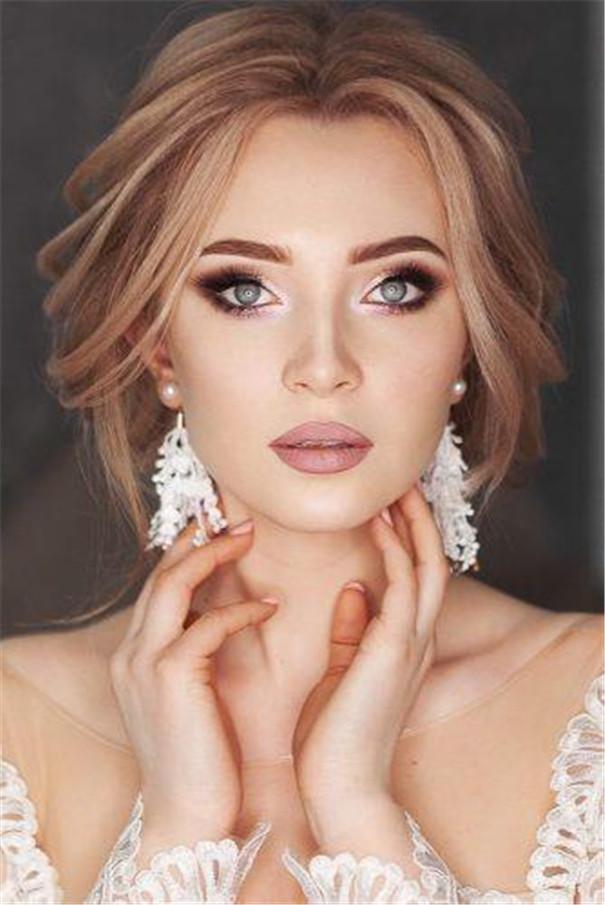 Gorgeous Wedding Makeup Ideas to Impress