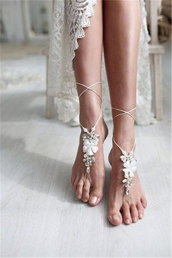 Beautiful Beach Wedding Shoes