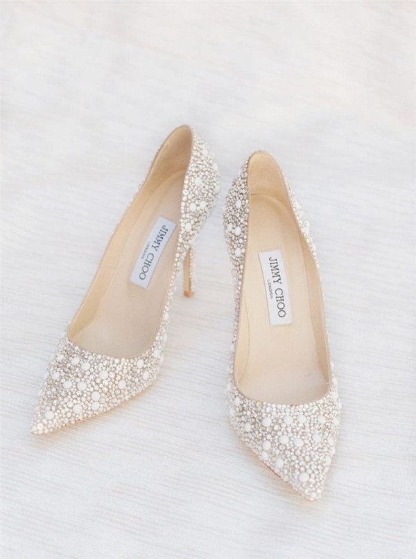 Sparkly Wedding Shoes Perfect for your Big Day